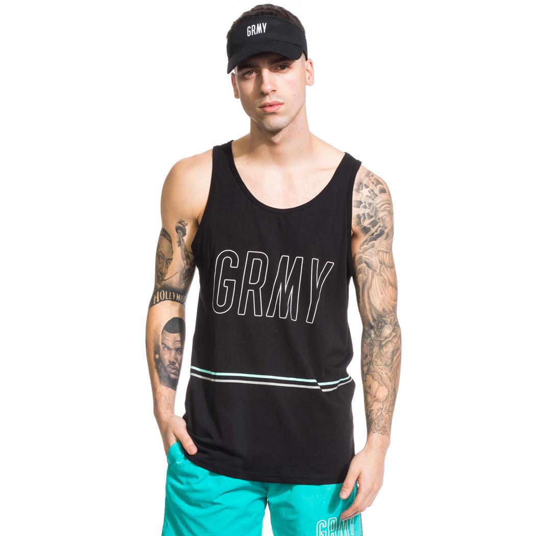 GRIMEY Camiseta Tirantes Rock Creek Park SS17 White